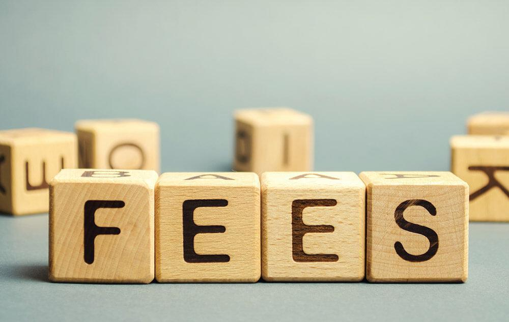 Fees charged by the Agency