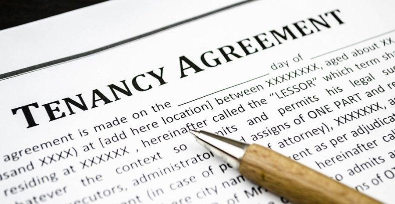 The Small Print in the Tenancy Agreement