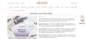 Natural Clay Mask
