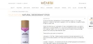 Natural Deodorant Sticks